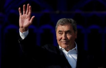 """Merckx: """"Evenepoel corre para sí mismo"""""""