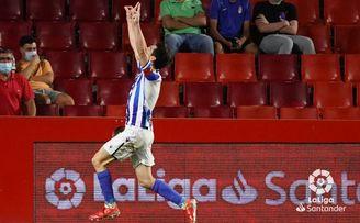 Granada CF 2-3 Real Sociedad: Remontada ante un equipo frágil que no despega