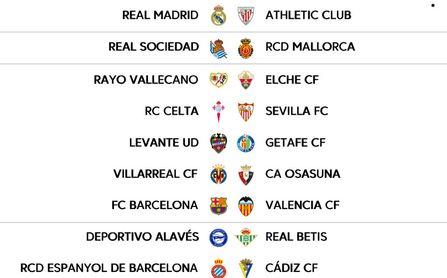 Horarios para Sevilla FC y Real Betis en la jornada 9 de LaLiga