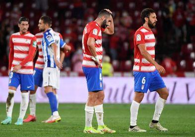 El Granada se mete en puestos de descenso más de cuatro años después