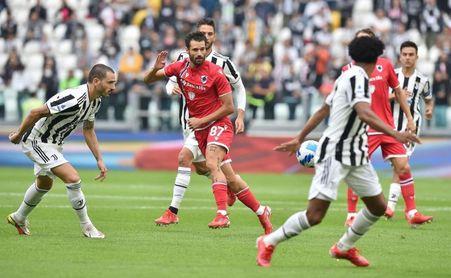 El Juventus gana 3-2 al Sampdoria, pero pierde a Dybala y Morata por lesión