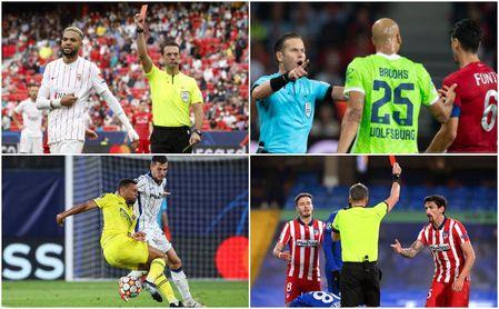 En-Nesyri, Brooks, Coquelin, Savic... los 10 sancionados en la segunda jornada de la Champions