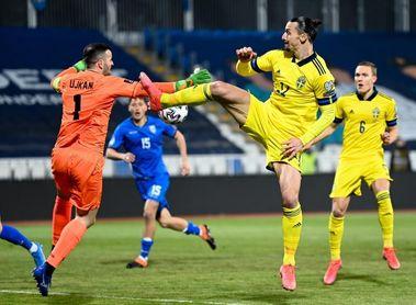 Ibrahimovic regresa a la lista de Suecia para los partidos contra Kosovo y Grecia