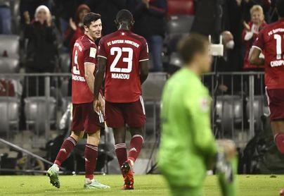 El Bayern recibe el domingo al Eintracht y el Dortmund el sábado al Augsburgo