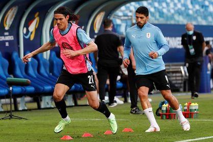 Suárez y Cavani son convocados para enfrenar a Colombia, Brasil y Argentina