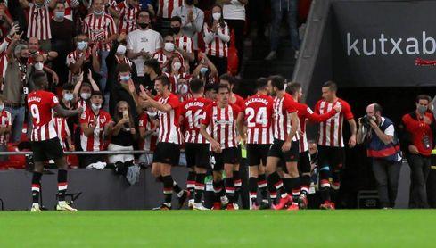 1-0. Un gol de Raúl García permite al Athletic dormir en Europa
