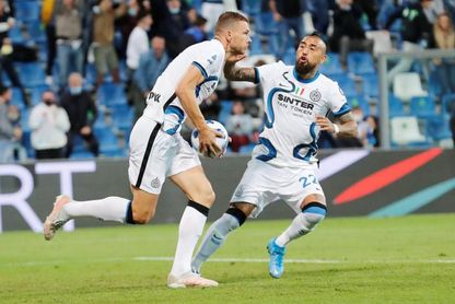 Dzeko y Lautaro rescatan al Inter