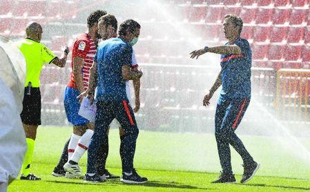 La extensa retahíla de elogios al Granada por parte del entrenador del Sevilla