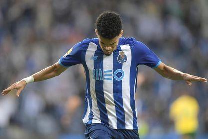 Luis Díaz, máximo goleador de Portugal, encarrila la remontada del Porto