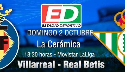 Villarreal - Real Betis: El buen fútbol hace una parada en La Cerámica
