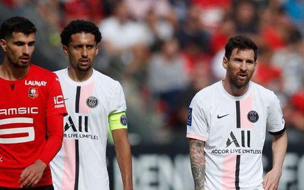 El PSG, con todos sus cracks, se estrella en Rennes
