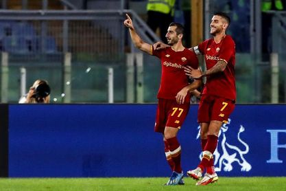 Pellegrini y Mkhitaryan reactivan al Roma