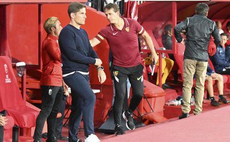 """Robert Moreno, feliz con su Granada: """"Anulamos al Sevilla, un gran rival que llegaba imbatido"""""""