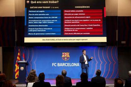 La auditoría del Barça revela descontrol con Bartomeu y una masa salarial disparada