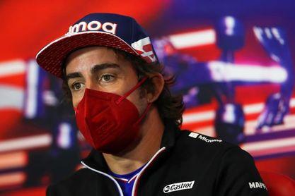 """Alonso: """"Hay reglas diferentes según el piloto"""""""
