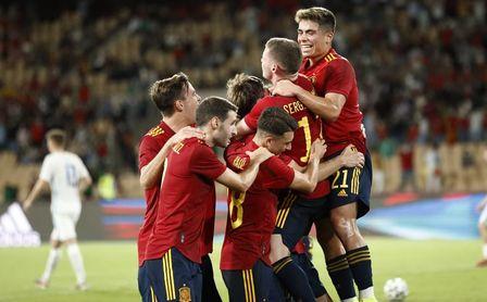 3-2: España sufre pero da otro paso hacia la Eurocopa sub 21