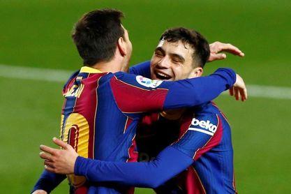 Pedri, entre los candidatos al Balón de Oro, junto a Messi
