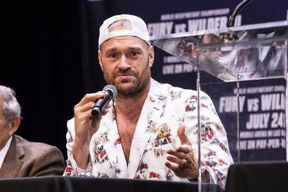 Tyson Fury promete resolver con un nocaut la tercera pelea con Deontay Wilder