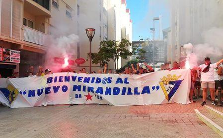 La afición del Cádiz y el Málaga, en el punto de mira de LaLiga.