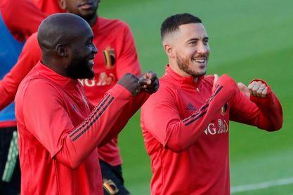 Martínez confirma las bajas de Lukaku y Hazard para el partido contra Italia