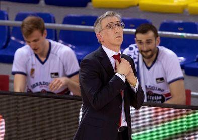 Moncho Fernández: ?Tenemos que igualar la intensidad del UCAM Murcia?