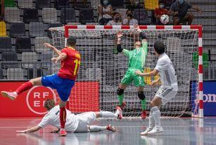 España, contra Azerbaiyán, Bosnia y Georgia en la Eurocopa 2022