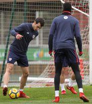 Lekue ´disfruta´ con su titularidad y ve al Athletic ´con opciones´ europeas